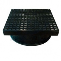320mm Square Cover & Frame with Sealing Ring