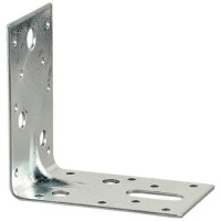 Galvanised Angle Brackets - 90 x 90 x 60mm