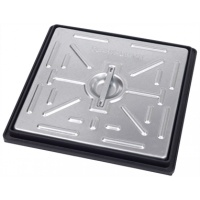 5 Ton Manhole Cover & Frame 300 x 300mm