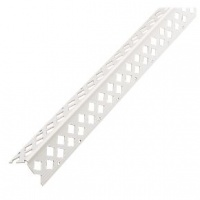 White PVC 2-3mm Angle Bead 2.5m BOX 25