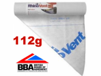 1.0m x 50m Rhinovent Ultra Breathable Membrane 112g-m2