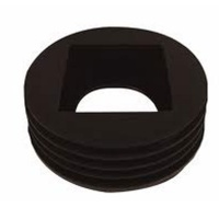 Universal Rain Water Adaptor Square/Round Black