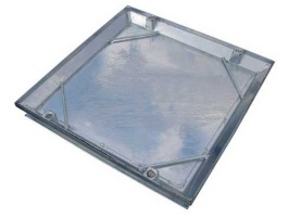 Tray Type Double Seal Manhole Cover 300 x 300mm