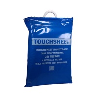4m x 5m Toughsheet Damp Proof Membrane - Handy Pack - Blue - BBA Approved