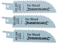 Double-Sided Recip Saw Blade for Wood 3pk
