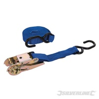 Ratchet Tie Down Strap S-Hook