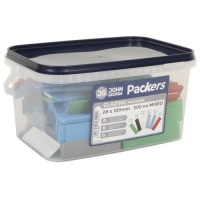 Mixed FLat Glazing Packers - 300 Tub
