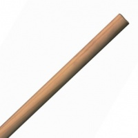 Broom Handle 5' 1-1/8''