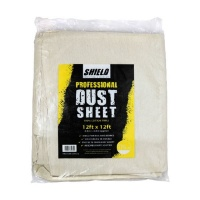 Cotton Dust Sheet 3.6m x 2.4m