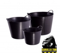 38 Litre Black Gorilla Tub