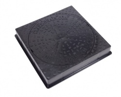 450mm Square To Round Manhole Drain Cover