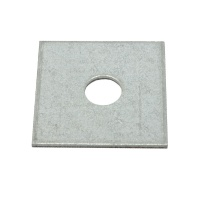 Square Plate Washers M12 50 x 50mm - 10 Pack