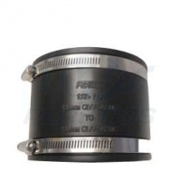 110mm to 110mm Plastic Flexible Adapter