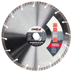 230mm Wellcut General Purpose Diamond Disc