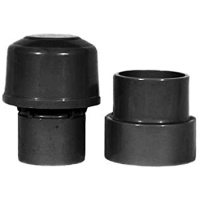 32,40,50mm Universal Air Admittance Valve - Black