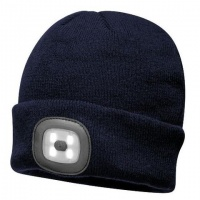 Beanie Hat With LED Head Light