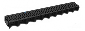 Shallow Channel Drainage - 1.0m length - Plastic Top