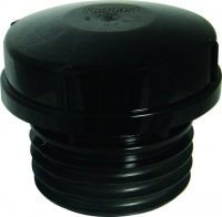 AF110B Flowplast Push-Fit Air Internal Admittance Valve - Black