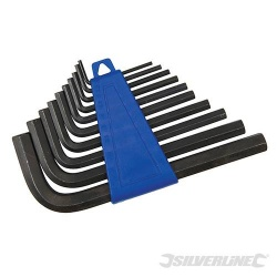 Alum Key Hex Key Set 2-10mm - 10 Piece