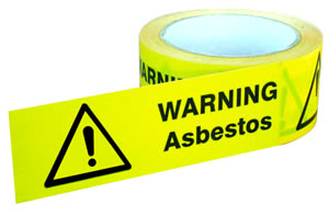 Asbestos Warning Tape 50mm x 33m