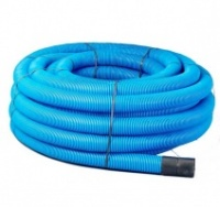 Blue Twinwall Water Mains Ducting