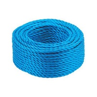 6mm Blue Rope Draw Cord - 30, 100, 220m Lengths