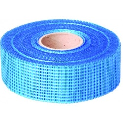 Drywall Master Self Adhesive Plasterboard Blue Scrim Tape  50mm x 90m