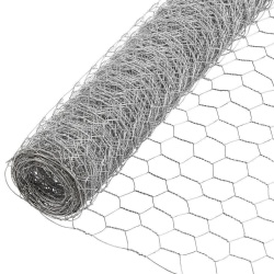 Galvanised Wire Netting - Chicken Wire 10m x 0.6m