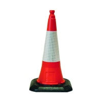 Self Weighted Road Traffic Cone 450mm