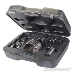 TCT Core Drill Kit - 9 Piece