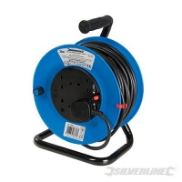 25m Cable Reel - 4 Sockets