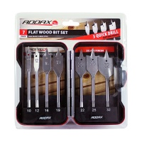 Timco Flat Wood Bit Set 7pc