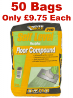 50No Self Level Flexiplus Floor Compound 20Kg - 1 Ton