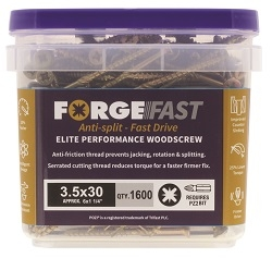 ForgeFast Pozi Elite Performance Woodscrew Tubs