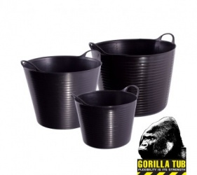 26 Litre Black Gorilla Tub