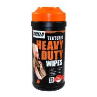 Shield Textured Heavy Duty Builders Wipes - 75 Wipes