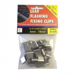 Lead Flashing Fixing - Hallclip  50 Pack