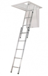 3 Section Loft Ladder GLL257 Manthorpe
