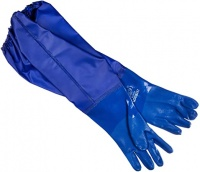 Long PVC Pond and Drain Gloves XL - Size 10