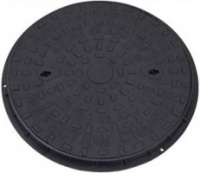 320mm Inspection Chamber Round Cover & Frame