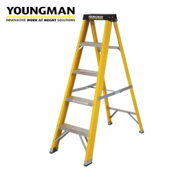 Youngman Fibreglass Step Ladder