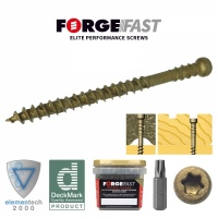 ForgeFast Elite Trim Head Decking Screws